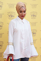 Mariah Idrissi<br /> arriving for the TWG Tea Gala Event at Leicester Square, London<br /> <br /> ©Ash Knotek  D3413  02/07/2018