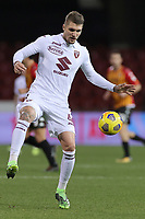 Vojnovic Lyanco of Torino FC in action during the Serie A football match between Benevento Calcio and Torino FC at stadio Ciro Vigorito in Benevento (Italy), January 22nd, 2021. <br /> Photo Cesare Purini / Insidefoto