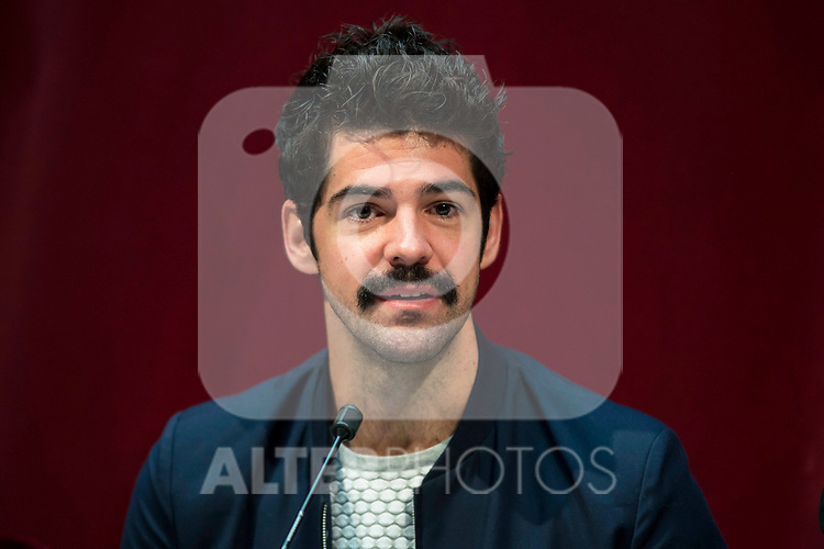 """Miguel Angel Muñoz during the presentation of the new production of the Spanish Theater """"Arte Nuevo""""  at spanish theater in Madrid, February 16, 2016<br /> (ALTERPHOTOS/BorjaB.Hojas)"""
