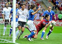 """Gigi Buffon.Varsavia 28/06/2012  """"Stadion Narodowy"""".Football calcio Europeo 2012 Germania Vs Italia.Football Calcio Euro 2012.Foto Adam Nurkiewicz/Panoramic/Insidefoto"""