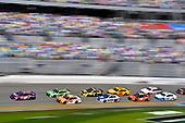 2017 NASCAR Cup - Clash at Daytona<br /> Daytona International Speedway, Daytona Beach, FL USA<br /> Sunday 19 February 2017<br /> Daniel Suarez, ARRIS Toyota Camry, Matt Kenseth, Interstate Batteries Toyota Camry and Denny Hamlin, FedEx Express Toyota Camry restart<br /> World Copyright: Nigel Kinrade/LAT Images<br /> <br /> ref: Digital Image 17DAY1nk04822