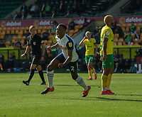 Preston North End's Darnell Fisher celebrates scoring his side's second goal <br /> <br /> Photographer David Horton/CameraSport<br /> <br /> The EFL Sky Bet Championship - Norwich City v Preston North End - Saturday 19th September 2020 - Carrow Road - Norwich<br /> <br /> World Copyright © 2020 CameraSport. All rights reserved. 43 Linden Ave. Countesthorpe. Leicester. England. LE8 5PG - Tel: +44 (0) 116 277 4147 - admin@camerasport.com - www.camerasport.com