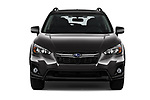 Car photography straight front view of a 2020 Subaru Crosstrek Premium 5 Door SUV Front View