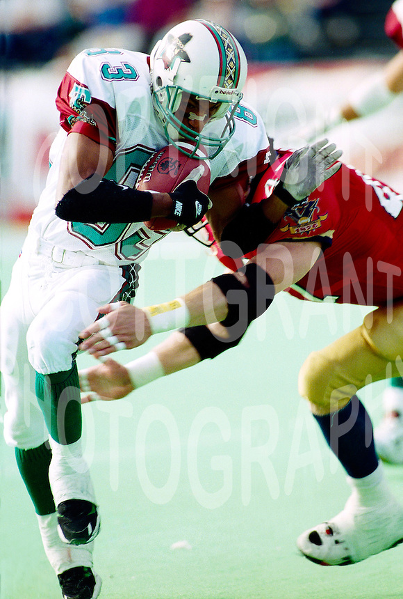 David Lucas San Antonio Texans 1995. Photo F. Scott Grant