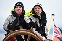 THE BESSIE ELLEN TRAVEL FEATURE.<br /> Journalist Hazel Southam, 51,and paediadric intensive care nurse, Eve Hallam, 33, take the helm.<br /> Photo:Clare Kendall