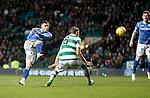Celtic v St Johnstone...23.01.16   SPFL  Celtic Park, Glasgow<br /> Michael O'Halloran shoots wide<br /> Picture by Graeme Hart.<br /> Copyright Perthshire Picture Agency<br /> Tel: 01738 623350  Mobile: 07990 594431