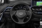 Car pictures of steering wheel view of a 2020 Toyota C-HR Club 5 Door SUV