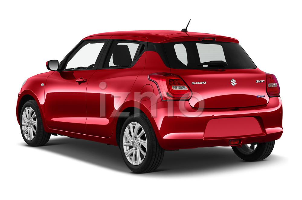 Car pictures of rear three quarter view of 2021 Suzuki Swift GL-Plus-Hybrid 5 Door Hatchback Angular Rear