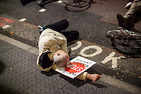 """27.11.2015 - """"No More Coffins - Stop Killing Cyclists Die-In & Vigil"""" at TFL HQ"""