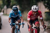 Jarlinson Pantano (COL/Trek-Segafredo)<br /> <br /> 76th Paris-Nice 2018<br /> stage 6: Sisteron > Vence (198km)