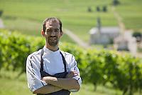 Europe/France/Rhône-Alpes/73/Savoie/Jongieux: Michaël Arnoult chef du  Restaurant: Les Morainières [Non destiné à un usage publicitaire - Not intended for an advertising use]