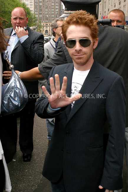 WWW.ACEPIXS.COM . . . . .  ....NEW YORK, NEW YORK, MAY 16TH 2005....Seth Green leaving his midtown hotel.....Please byline: PAUL CUNNINGHAM - ACE PICTURES..... *** ***..Ace Pictures, Inc:  ..Craig Ashby (212) 243-8787..e-mail: picturedesk@acepixs.com..web: http://www.acepixs.com