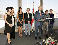 Montreal (Qc) Canada - Aug 31 2010 -The jury of  the 2010 World Film Festival : PrÈsident : BILLE AUGUST, rÈalisateur (Danemark)<br /> IR??NE BIGNARDI, journaliste et directrice de festivals (Italie)<br /> ANNE-MARIE CADIEUX, actrice (Canada)<br /> MARWAN HAMED, rÈalisateur (…gypte)<br /> IGOR MINAEV, rÈalisateur (Ukraine-France)<br /> …DOUARD MOLINARO, rÈalisateur (France)<br /> LIJUNG TANG, directrice de festivals (Chine)