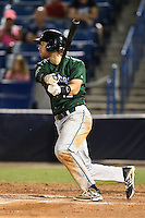 Daytona Tortugas third baseman Taylor Sparks (12) at bat during a game against the Tampa Yankees on April 24, 2015 at George M. Steinbrenner Field in Tampa, Florida.  Tampa defeated Daytona 12-7.  (Mike Janes/Four Seam Images)