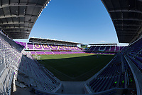 Orlando, FL - Saturday March 24, 2018:  A general view of the stadium prior to a regular season National Women's Soccer League (NWSL) match between the Orlando Pride and the Utah Royals FC at Orlando City Stadium.