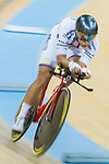 Leung Ka Yu of the X SPEED competes in Men Elite - Individual Pursuit Final during the Hong Kong Track Cycling National Championship 2017 on 25 March 2017 at Hong Kong Velodrome, in Hong Kong, China. Photo by Chris Wong / Power Sport Images