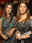 Simran Rihal and Heera Sethi at the Indian Film Festival Celebrity Gala at the InterContinental Hotel Saturday evening Sept. 26,2009. (Dave Rossman/For the Chronicle)