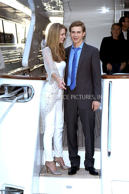 WWW.ACEPIXS.COM . . . . .  ... . . . . US SALES ONLY . . . . .....CANNES, MAY 14, 2005....Mischa Barton and Hayden Christensen at a photocall for 'The Decameron' at the Cannes Film Festival - 14 May 2005....Please byline: FAMOUS-ACE PICTURES-M. CLEMENTS... . . . .  ....Ace Pictures, Inc:  ..Craig Ashby (212) 243-8787..e-mail: picturedesk@acepixs.com..web: http://www.acepixs.com