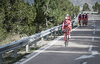 Androni Giocattoli–Siderm preparing for the 2017 season on the Coll de Rates (alt 626m/Alicante/Spain) in january