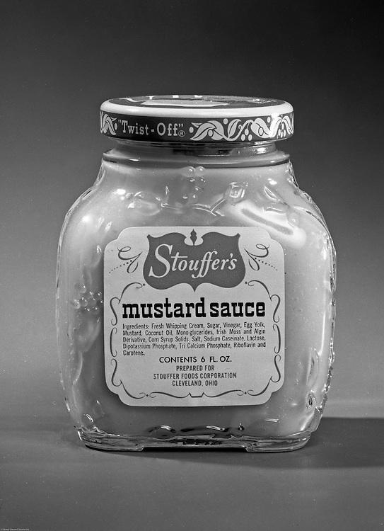 Client: Stouffers Foods<br /> Ad Agency: Ketchum, MacLeod & Grove<br /> Contact: Dana Gilpin<br /> Product: Stouffers Sauces<br /> Location: Brady Stewart Studio, 725 Liberty Avenue Pittsburgh<br /> <br /> The family's frozen food business began in the 1940s when customers started asking for frozen versions of the meals served in the restaurants. The Stouffers sold their company to Litton Industries in 1967, who in turn sold it to Nestlé in 1973. Nestle Foods has created a campus-like area at the headquarters in Solon, Ohio.