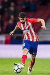 Diego Costa of Atletico de Madrid in action during the La Liga 2017-18 match between Atletico de Madrid and CD Leganes at Wanda Metropolitano on February 28 2018 in Madrid, Spain. Photo by Diego Souto / Power Sport Images