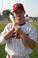 June 27, 2003:  Jack Headley of the Batavia Muckdogs during a game at Dwyer Stadium in Batavia, New York.  Photo by:  Mike Janes/Four Seam Images