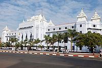 Myanmar, Burma, Yangon.  City Hall.