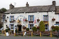 UK, England, Kettlewell, Yorkshire.  Blue Bell Inn, Pub, and Restaurant.