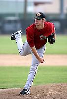 Jarrod Parker / Arizona Diamondbacks 2008 Instructional League..Photo by:  Bill Mitchell/Four Seam Images