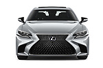 Car photography straight front view of a 2019 Lexus LS  Executive 4 Door Sedan