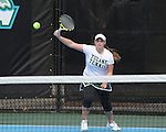 Images from Tulane Women's Tennis doubles play against the University of Alabama held at the Goldring Tennis Center on the campus of Tulane University.