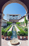 Europe, Spain, Andalusia, Granada, Alhambra, Palacio del Generalife
