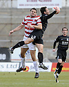06/03/2010  Copyright  Pic : James Stewart.sct_jspa03_hamilton_v_aberdeen  .::  MARK MCLAUGHLIN GOES INTO THE BACK OF DEREK YOUNG  :: .James Stewart Photography 19 Carronlea Drive, Falkirk. FK2 8DN      Vat Reg No. 607 6932 25.Telephone      : +44 (0)1324 570291 .Mobile              : +44 (0)7721 416997.E-mail  :  jim@jspa.co.uk.If you require further information then contact Jim Stewart on any of the numbers above.........