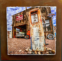 Simple Times - Mixed Media - Nevada<br />