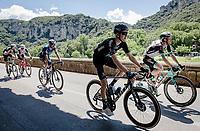 Mark Donovan (GBR/DSM) rolling through the spectacular Gorges de l'Ardèche<br /> <br /> Stage 12 from Saint-Paul-Trois-Châteaux to Nîmes (159km)<br /> 108th Tour de France 2021 (2.UWT)<br /> <br /> ©kramon