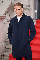 """Josh Dylan<br /> arriving for the premiere of """"The Wife"""" at Somerset House, London<br /> <br /> ©Ash Knotek  D3418  09/08/2018"""