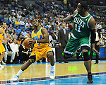 The Boston Celtics defeat the New Orleans Hornets, 89-85, in the New Orleans Arena.  Images are not for sale and appear strictly as a representation of my photography.