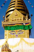 The Stupa at Swayambhunath, Nepal