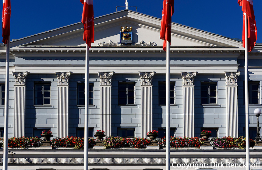 Rathaus in Helsinki, Finnland