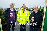 Attending the Blennerville Car and Tractor Run fundraiser for Kerry Hospice on Sunday, l to r: Tony Carmody, John Walsh and Philip Blennerhassett from Tralee.