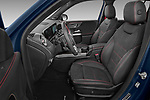 Front seat view of 2021 Mercedes Benz GLB AMG-35 5 Door SUV Front Seat  car photos
