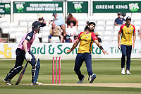 Shane Snater in bowling action for Essex during Essex Eagles vs Middlesex, Vitality Blast T20 Cricket at The Cloudfm County Ground on 18th July 2021