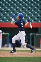 Ricardo Balogh (5) during the Dominican Prospect League Elite Underclass International Series, powered by Baseball Factory, on August 2, 2017 at Silver Cross Field in Joliet, Illinois.  (Mike Janes/Four Seam Images)