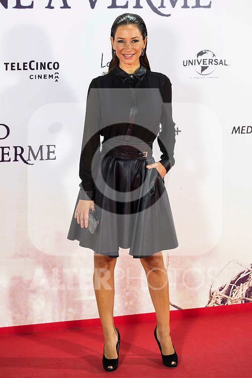 """Cecilia Gomez during the premiere of the spanish film """"Un Monstruo Viene a Verme"""" of J.A. Bayona at Teatro Real in Madrid. September 26, 2016. (ALTERPHOTOS/Borja B.Hojas)"""