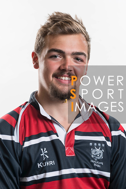 Hong Kong Junior Squad team member Roland Walker poses during the Official Photo Session Day at King's Park Sports Ground ahead the Junior World Rugby Tournament on 25 March 2014. Photo by Andy Jones / Power Sport Images