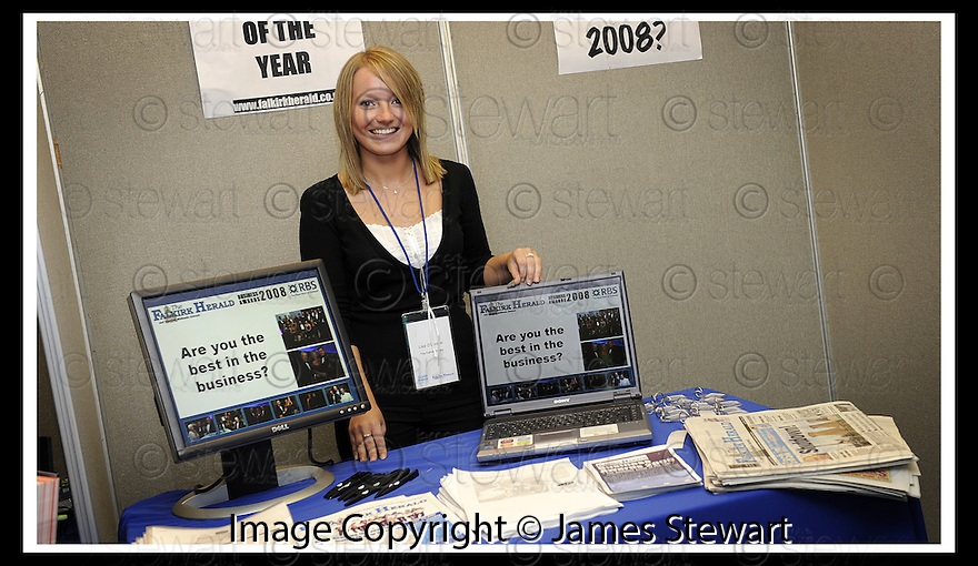 01/05/2008   Copyright Pic: James Stewart.File Name : 47_business_fair.FALKIRK BUSINESS FAIR 2008.FALKIRK HERALD.James Stewart Photo Agency 19 Carronlea Drive, Falkirk. FK2 8DN      Vat Reg No. 607 6932 25.Studio      : +44 (0)1324 611191 .Mobile      : +44 (0)7721 416997.E-mail  :  jim@jspa.co.uk.If you require further information then contact Jim Stewart on any of the numbers above........