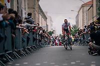 John Degenkolb (DEU/Trek-Segafredo) at the Team presentation in La Roche-sur-Yon<br /> <br /> Le Grand Départ 2018<br /> 105th Tour de France 2018<br /> ©kramon
