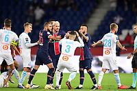 incident entre Neymar Jr (PSG) et Alvaro Gonzalez (OM) <br /> claque<br /> 13/09/2020<br /> Paris Saint Germain PSG vs Olympique Marseille OM <br /> Calcio Ligue 1 2020/2021  <br /> Foto JB Autissier Panoramic/insidefoto <br /> ITALY ONLY
