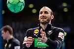 Marcel Schiller (Deutschland #31) ; EHF EURO-Qualifikation / EM-Qualifikation / Handball-Laenderspiel: Deutschland - Estland am 02.05.2021 in Stuttgart (PORSCHE Arena), Baden-Wuerttemberg, Deutschland.<br /> <br /> Foto © PIX-Sportfotos *** Foto ist honorarpflichtig! *** Auf Anfrage in hoeherer Qualitaet/Aufloesung. Belegexemplar erbeten. Veroeffentlichung ausschliesslich fuer journalistisch-publizistische Zwecke. For editorial use only.