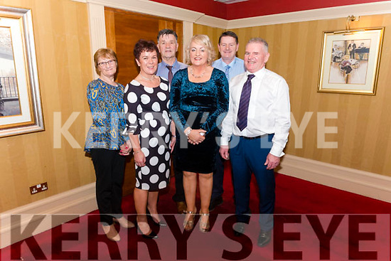 Kilcummin GAA Social night in the Avenue Hotel, Killarney last Friday night, Pictured are l-r Ester Dwyer, Noreen O'Leary, Ger Dwyer, Eileen O'Leary, Christy O'Leary and Kevin O'Leary